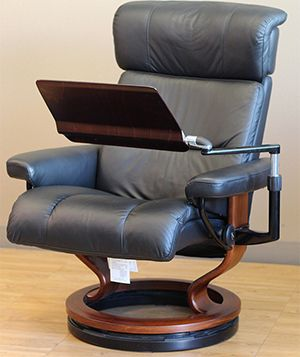 desk recliner chair covers brisbane stressless personal computer laptop table for your ekornes chairs recliners sofas and other