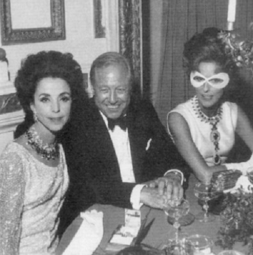 Gloria Guinness, Bill Blass and Babe Paley