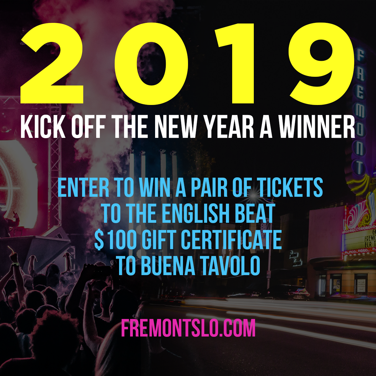 Enter To Win A New Year's Eve Prize Package! The english
