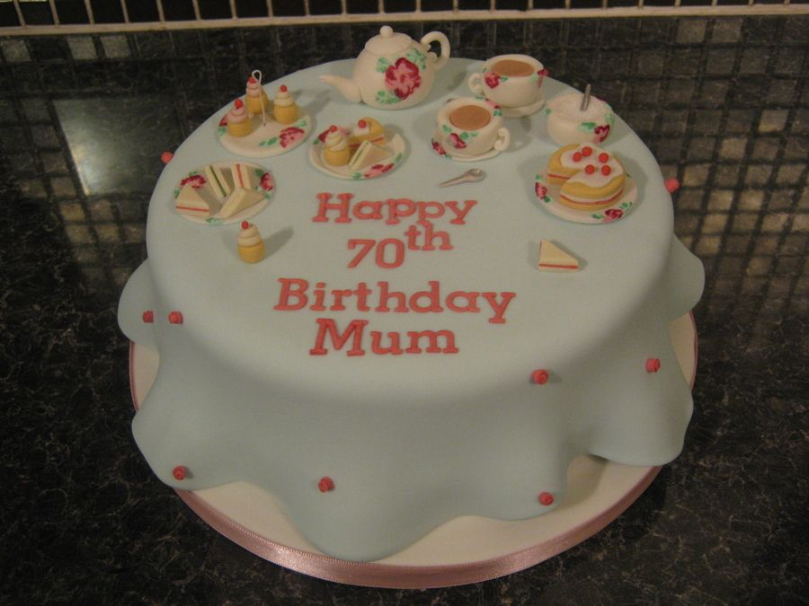 Afternoon Tea Birthday Cake Google Search Tea Party Pinterest