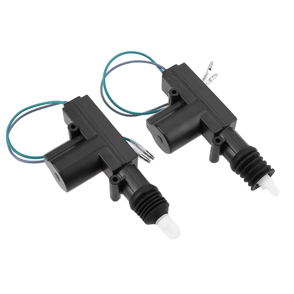 Sale 2pcs 12v Door Power Central Lock Kit With 2 Wire Actuator For Auto Vehicle Entry Car Remote Control Conversion Car Styling New Remote Control Remote Car