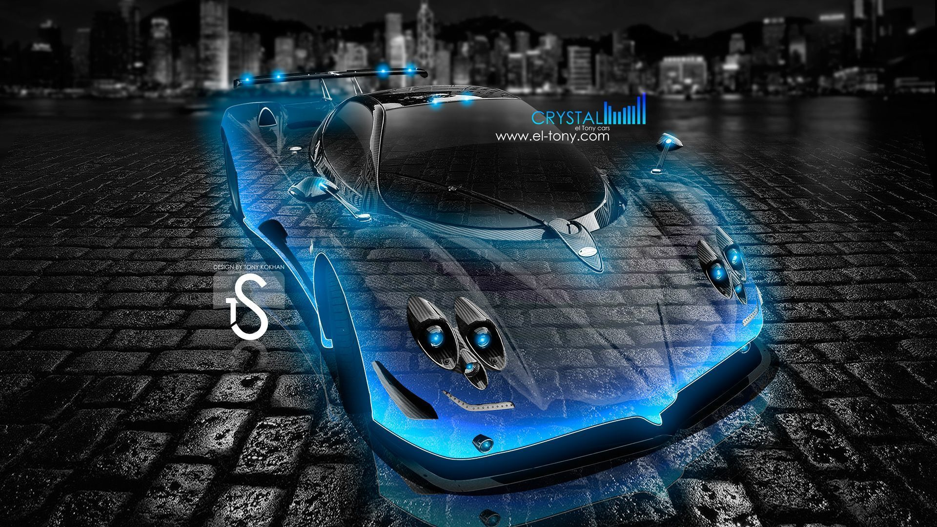 Delicieux Pagani Zonda F Crystal City Car 2013 « El Tony