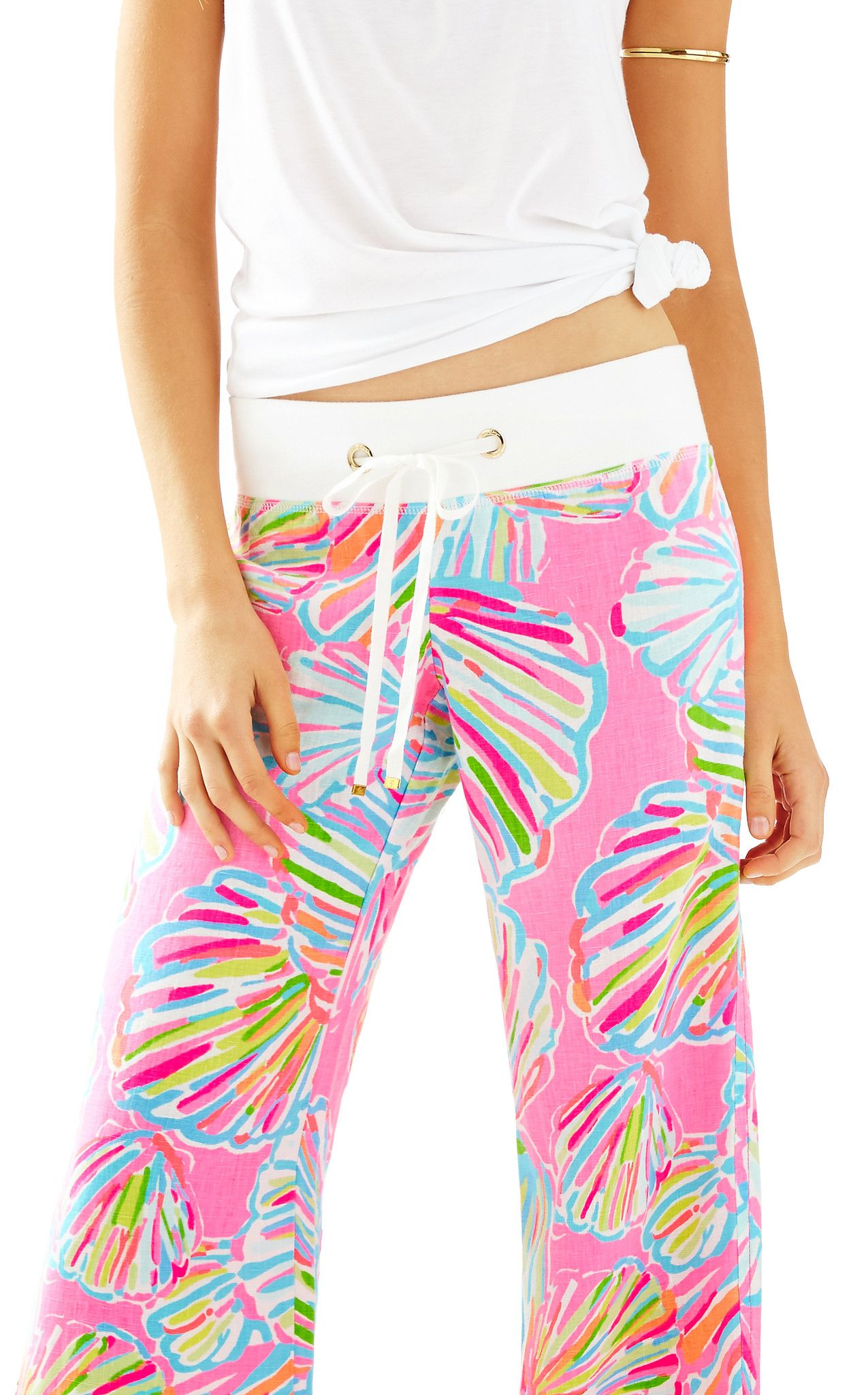 98d42fbb30 BEACH PANT - PINK POUT SHELLABRATE BY LILLY PULITZER | My style ...