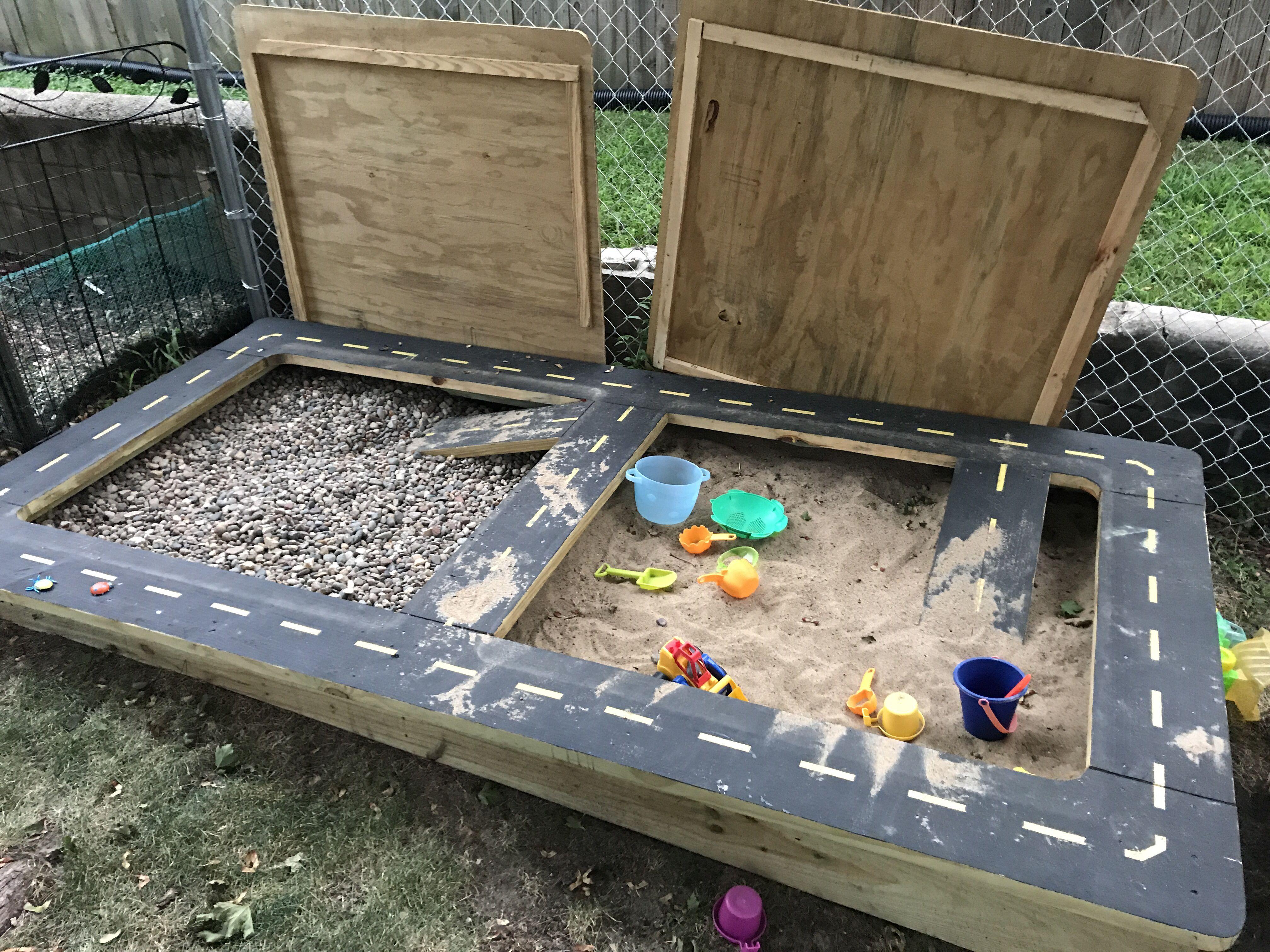 Rock Sand Box Sandbox Rock Box Kids Room
