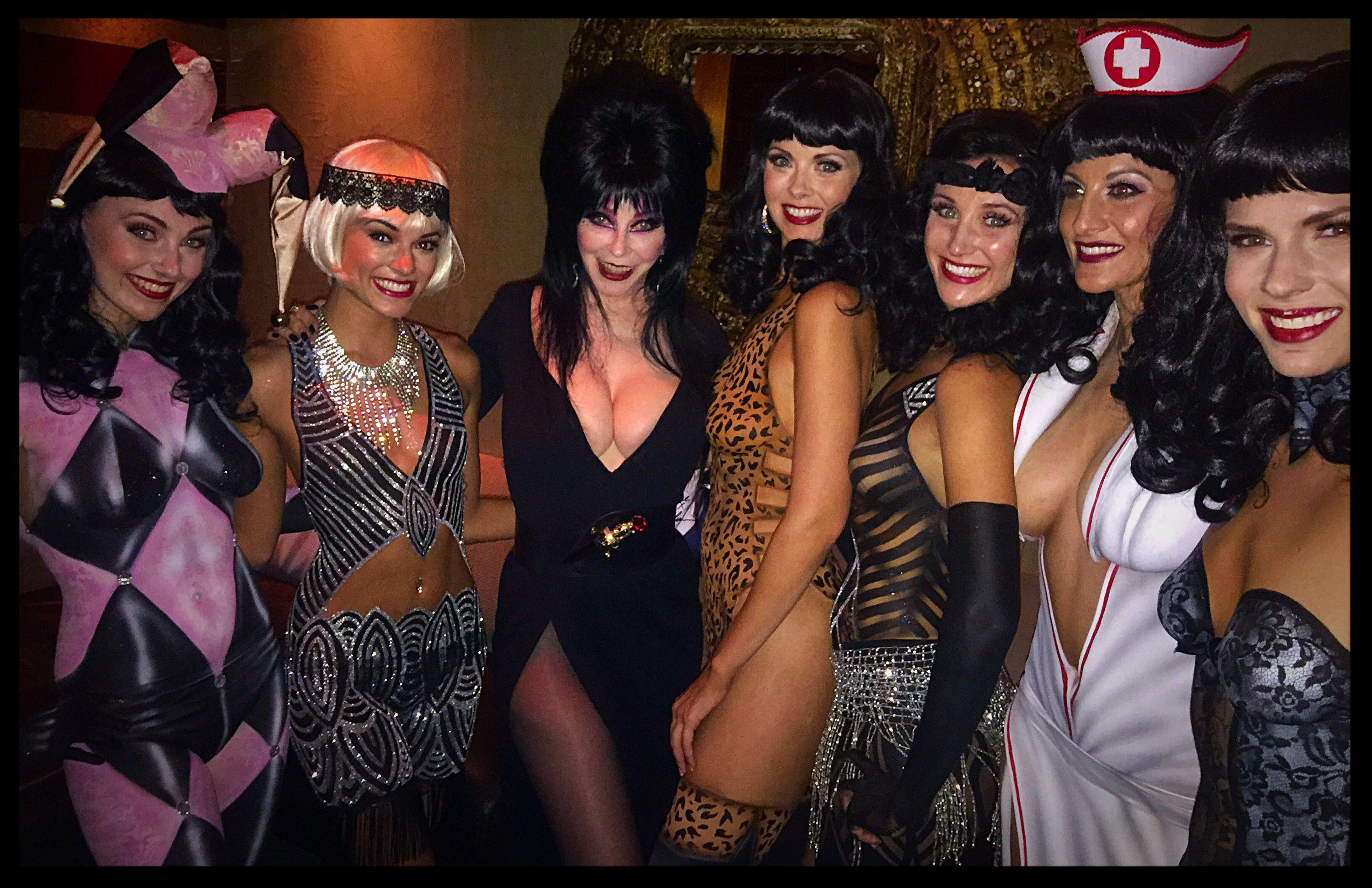 Elvira Naked Vegas Kelly Belmonte Bettie Page
