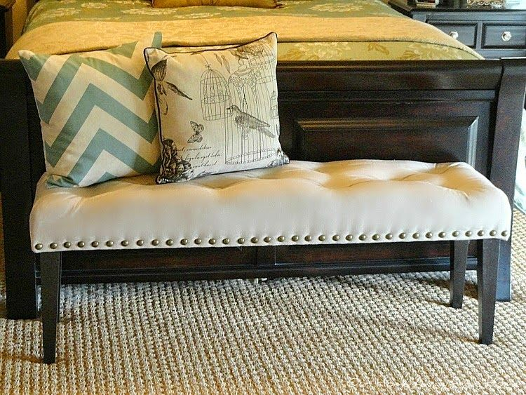A Diy Drop Cloth Bench Made Over By A Home Away From Home Diy