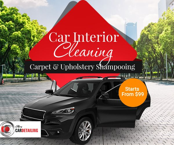 Get Your Car Interior Shampooed At Reasonable Rates