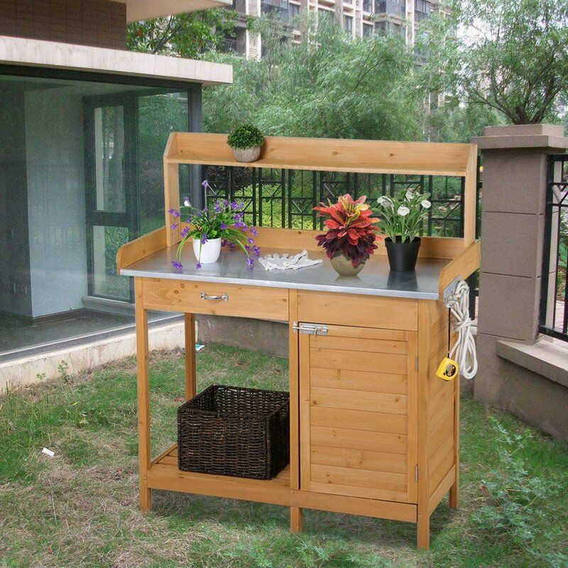 Incredible Potting Bench Home Bench Bench Decor Cabinet Drawers Ibusinesslaw Wood Chair Design Ideas Ibusinesslaworg