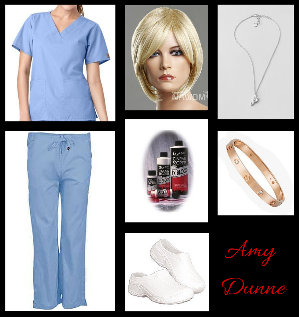 Lady Halloween Cosplay Amy Dunne from Gone Girl Cool