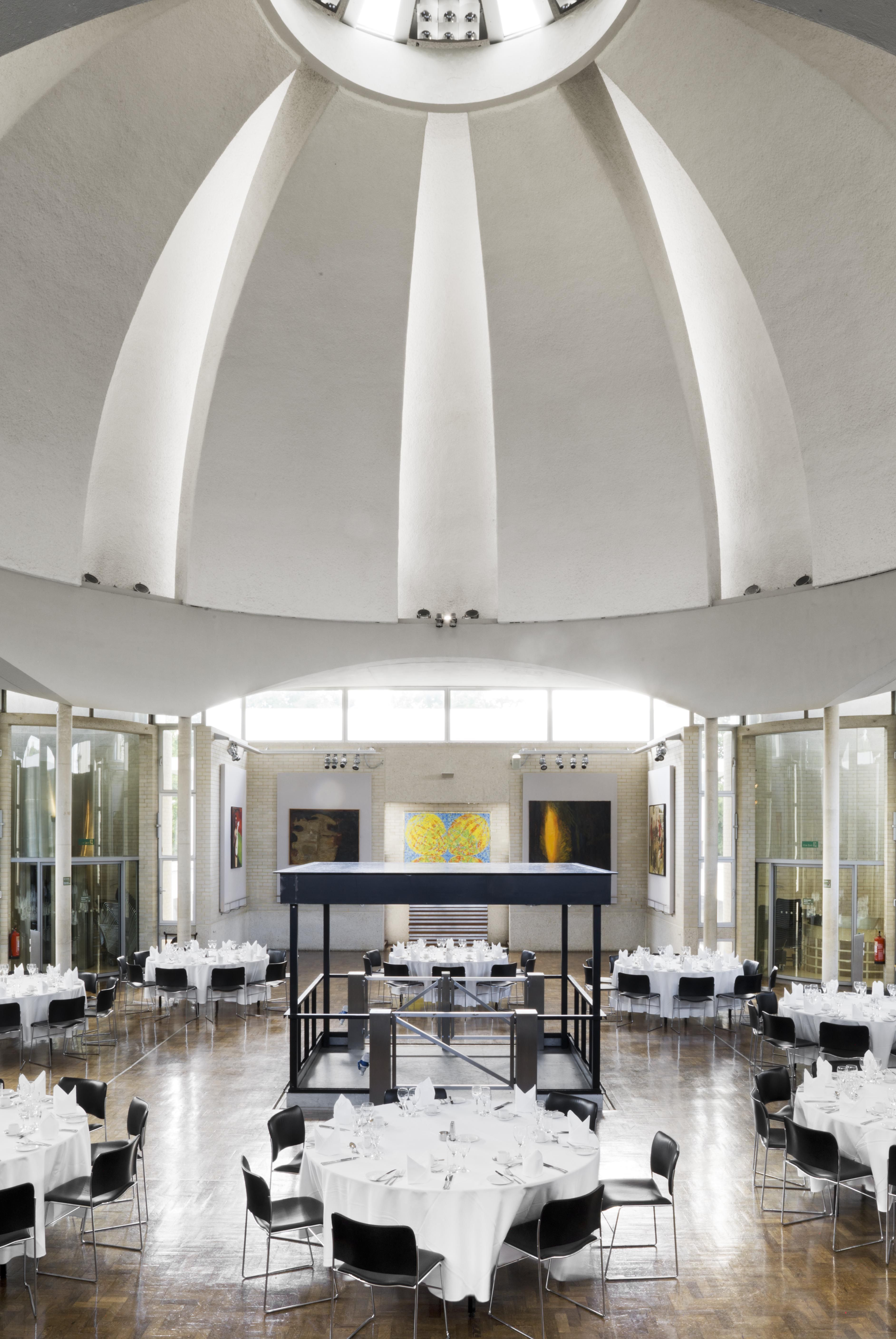 Interior of New Hall Murray Edwards College Dining Hall DP