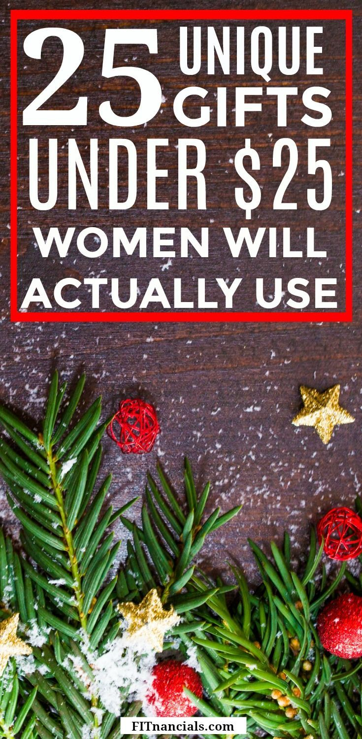 25 unique gifts under 25 women will actually use unique