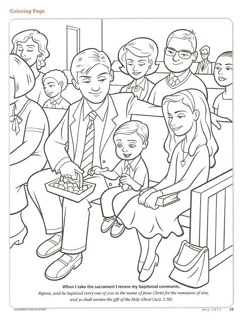 primary 2 manual lesson 38 i will remember jesus christ during the sacrament journal page print it here coloring page from - Coloring Pages Primary Lessons