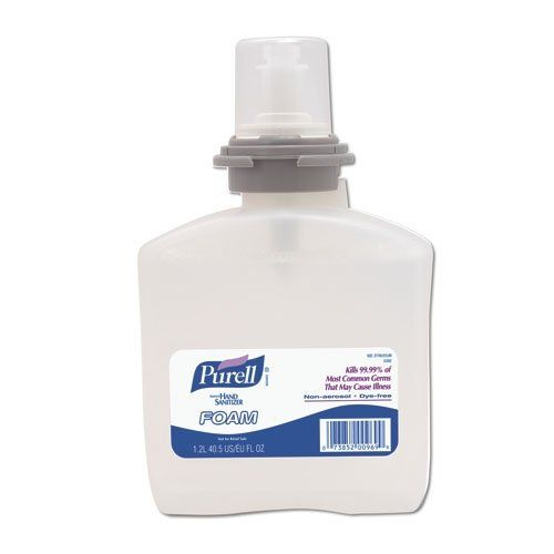 Purell 5392 02 Instant Foaming Hand Sanitizer 1200 Ml Tfx Refill