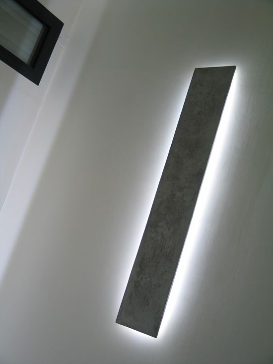 applique led allum e lampes et lumi res pinterest luminaire parement mural et applique led. Black Bedroom Furniture Sets. Home Design Ideas