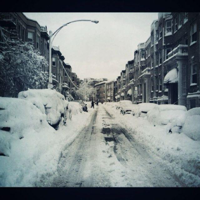 Gordon's street blizzardized