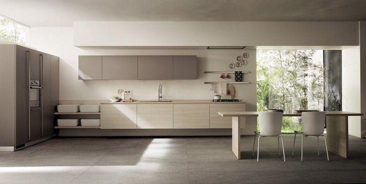 Grifflose Einrichtung Küche Modernes Design Scavolini #kitchen #bathroom # Modern #ideas