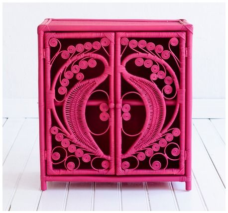 Fuchsia Peacock Cabinet by The Family Love Tree | Hannah ...