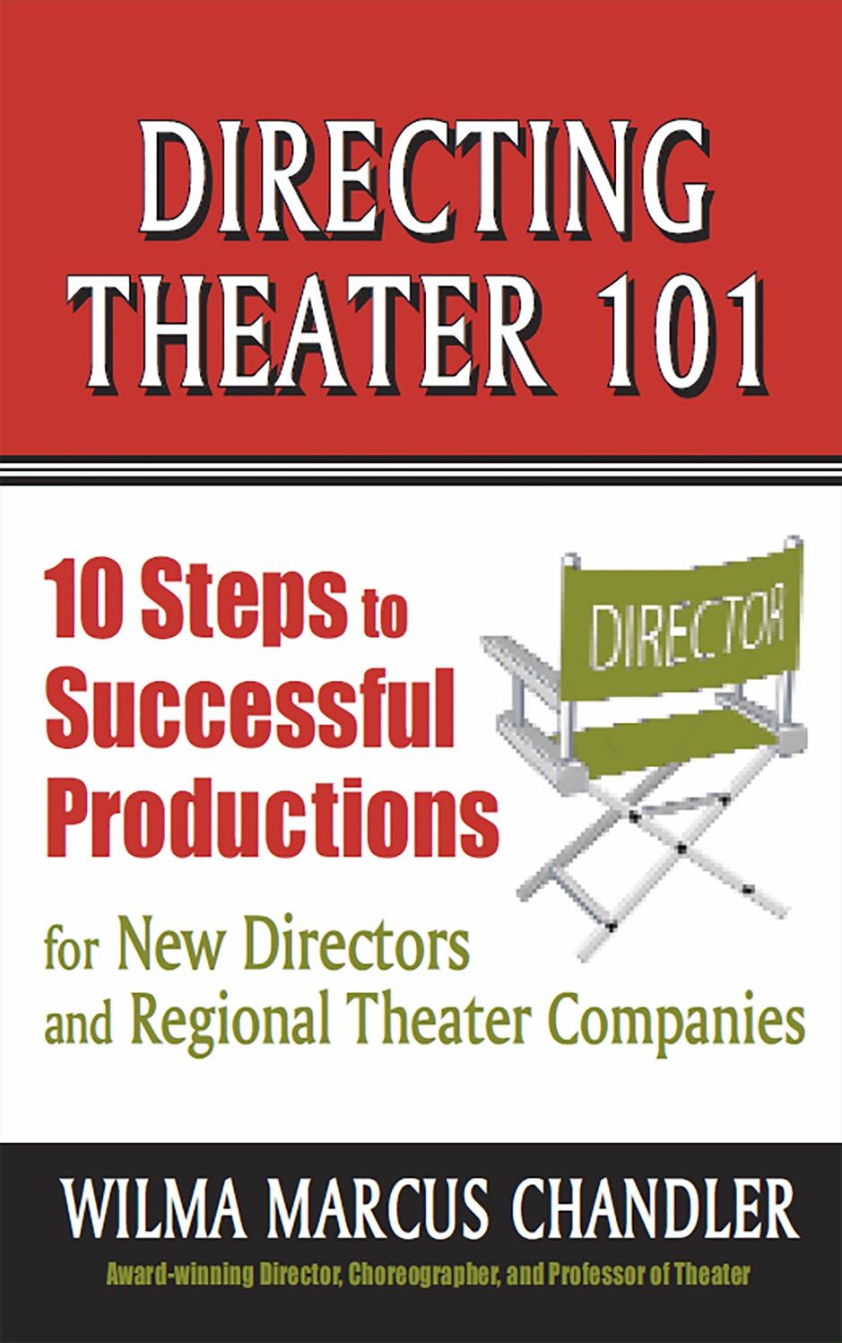 A Zdirecting Theater 101 10 Steps To Successful Productions For New Directors And Sponsored Directing Theatre Theatre Company Logo Design Branding Simple