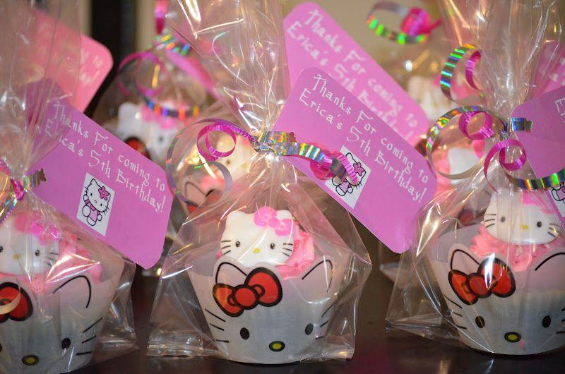 Hello Kitty Party Ideas Traylor Made Treats Cake Favors