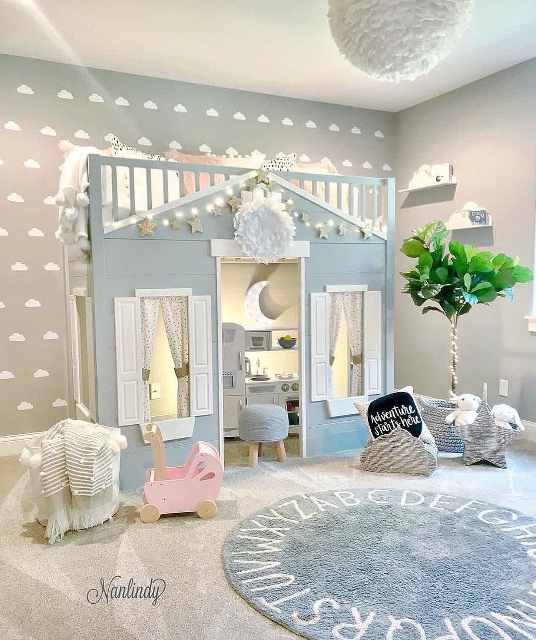 Kinderzimmer Inspiration Hochbett   Instagram   Kinderzimmer einrichten, Kinder zimmer ...