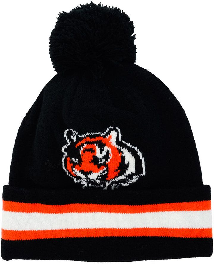 Outerstuff Toddlers  Cincinnati Bengals Cuff Pom Knit Hat - Sports Fan Shop  By Lids - Men - Macy s f3a96f111