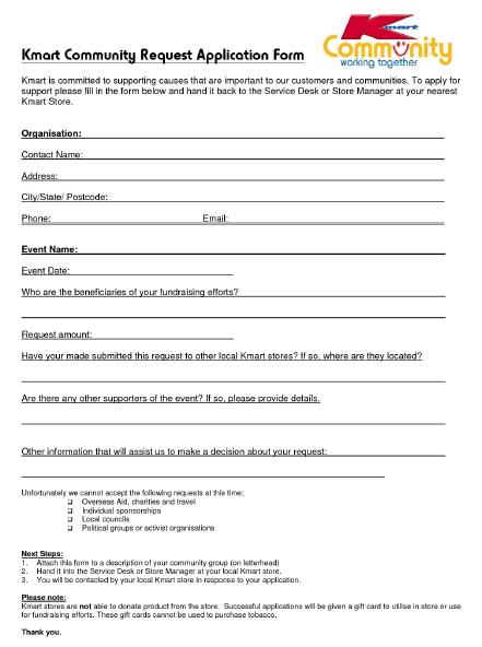 Kmart Job Application Form Online Job Hunter Database Job Application Form Printable Job Applications Application Form