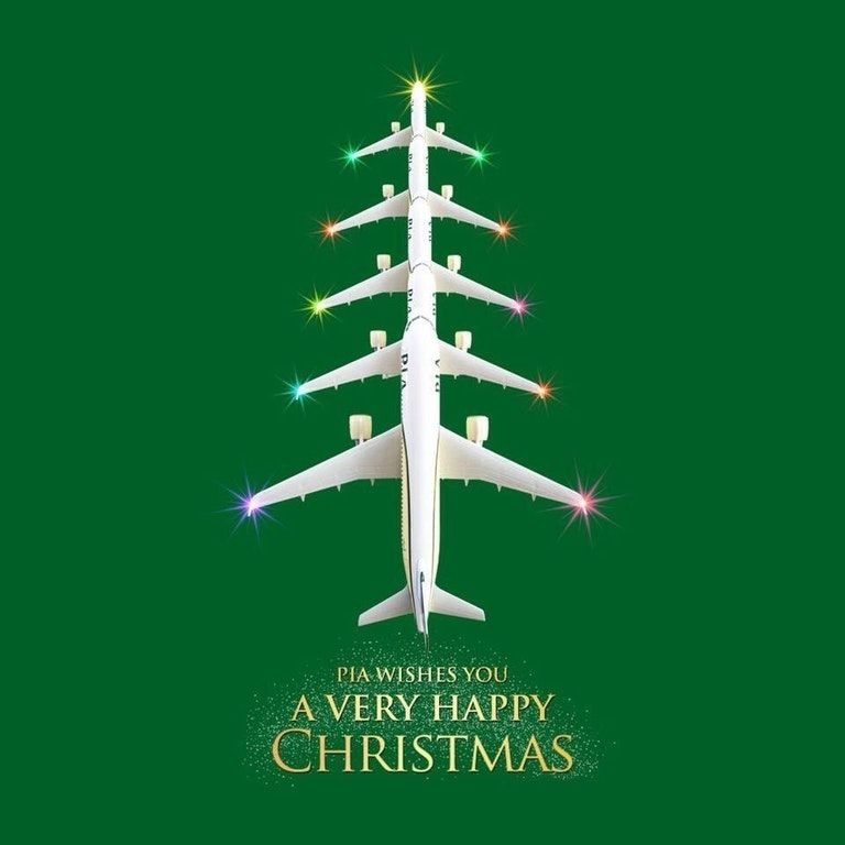 Pakistan Internationl Airlines Christmas Advert [768x768] #advertising  #marketing #online #RT #business #socialmedia #SEO #traffic