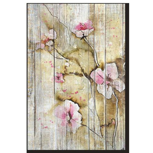 Tableau Deco Fleurs Coquelicots Roses Tableau Decoratif Floral