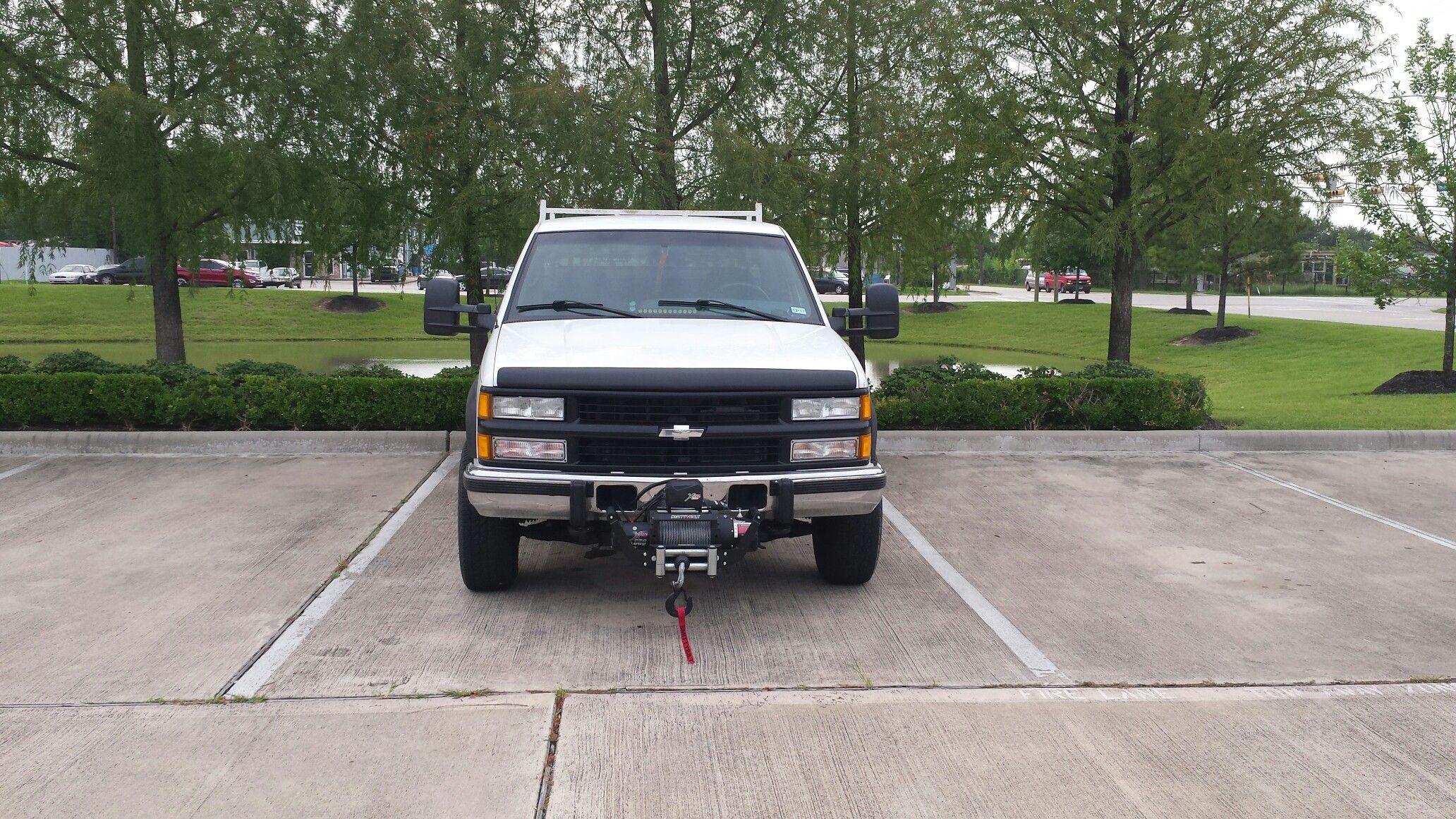 96 chevy k2500 silverado diesel smittybilt xrc 15 500 winch 97415 [ 2064 x 1161 Pixel ]
