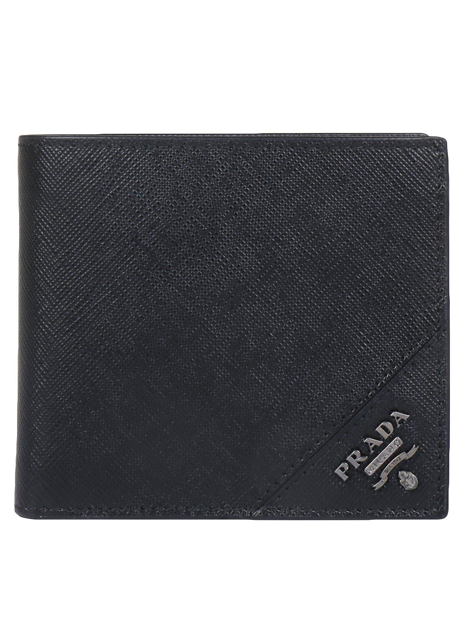 Prada Wallet Prada Wallet Bifold Plaqueta Bifold Logo Plaqueta Prada Logo Logo ZOvwddqT