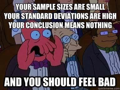 Sample Size Research Sociology Funny Psychology Humor