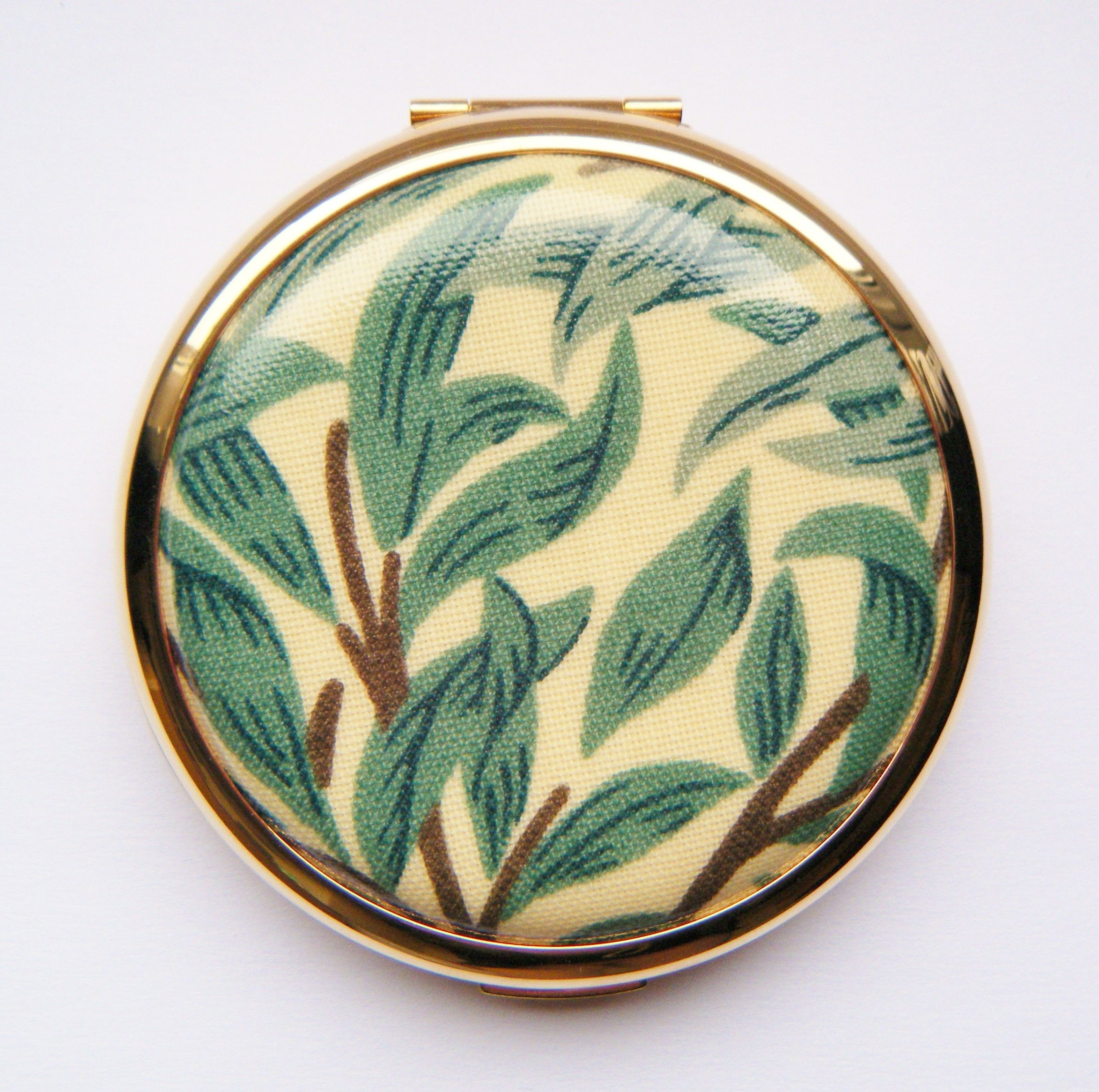 William Morris Willow Bough Convertible Stratton Compact (Limited Edition)