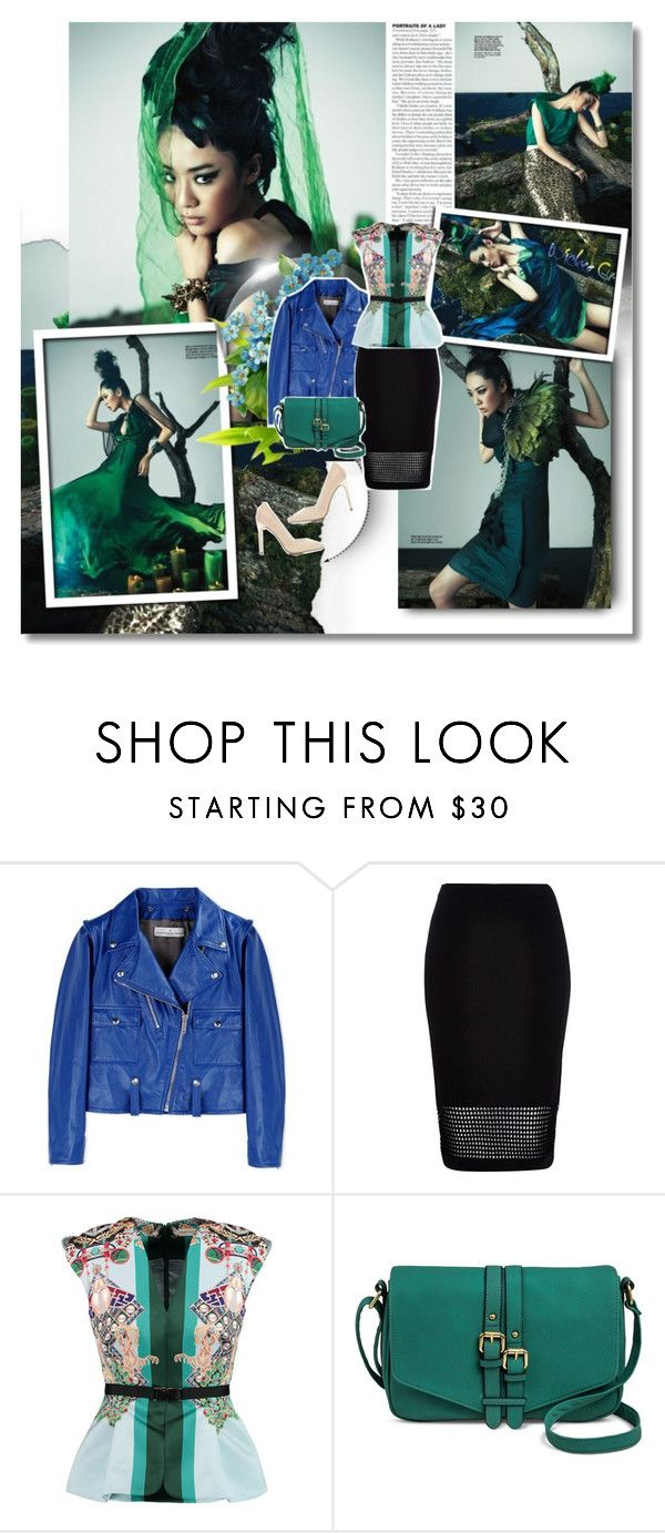 """""""24 Oct 2015"""" by kristinksn ❤ liked on Polyvore featuring Golden Goose, River Island, Mary Katrantzou, Merona and Miss Selfridge"""
