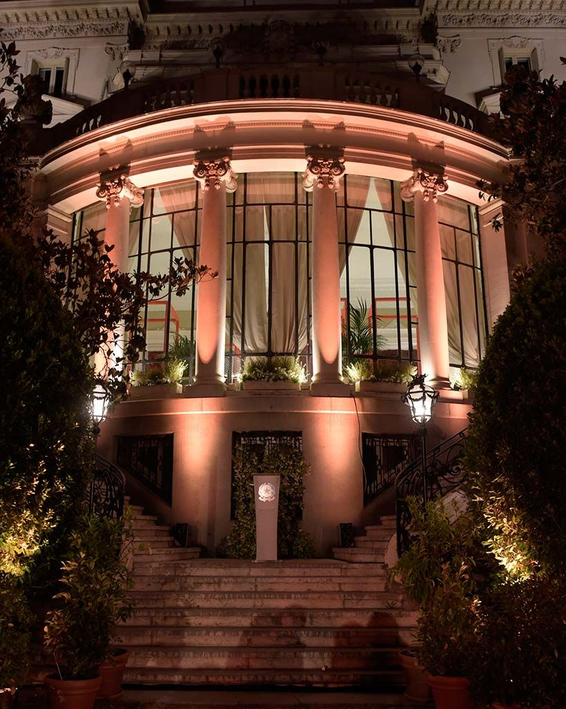 Opening party La Embajada de Italia en Madrid, un lugar