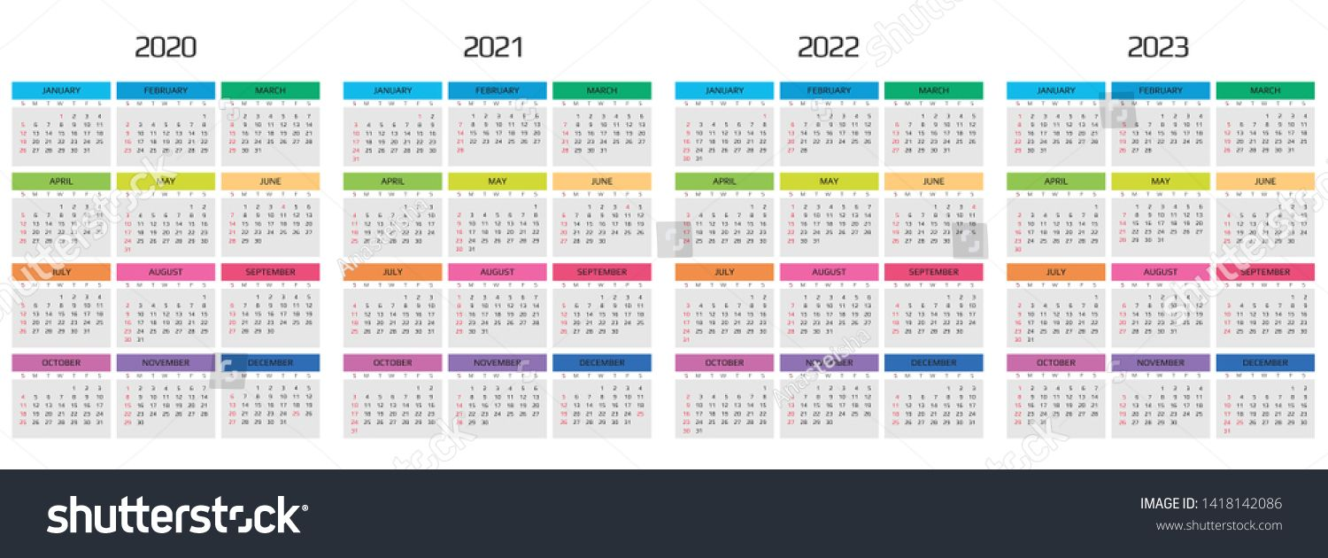 2022 Events Calendar.Calendar 2020 2021 2022 2023 Template 12 Months Include Holiday Event Week Starts Sunday Ad Affilia Holidays And Events Calendar 2020 Weekly Calendar