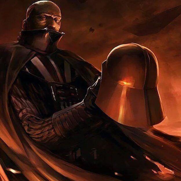 The face of Vader #darthvader #starwars