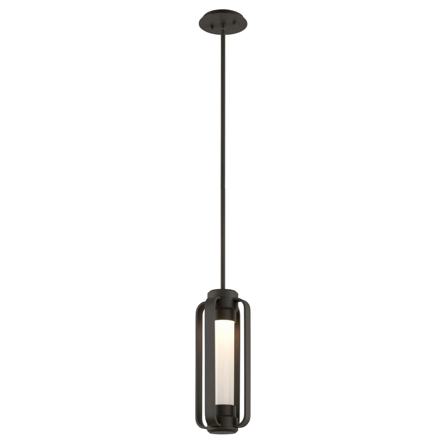 Verve Outdoor Pendant Features Bronze Finish Housing An Opal Glass Diffuser One 12 Watt 120 Outdoor Hanging Lights Outdoor Pendant Lighting Outdoor Pendant