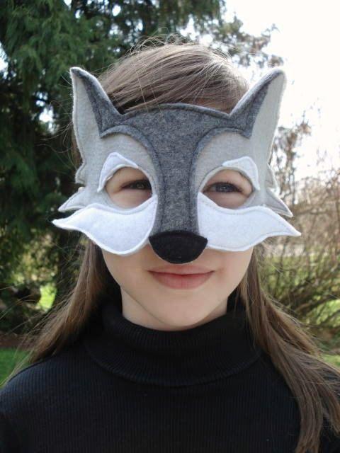 Wolf Mask | Kostüme nähen | Pinterest | Kostüm, Wolf kostüme und Masken