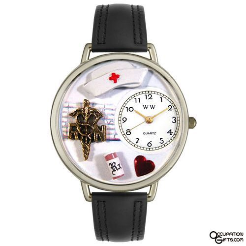 Nurse Watch - A wonderful idea for nurses. A unique gift idea for RN, staff nurse, nurse practitioner... whether psychiatric, vocational, occupational, research or hospital. Even unique gift ideas for nursing graduations for graduation.
