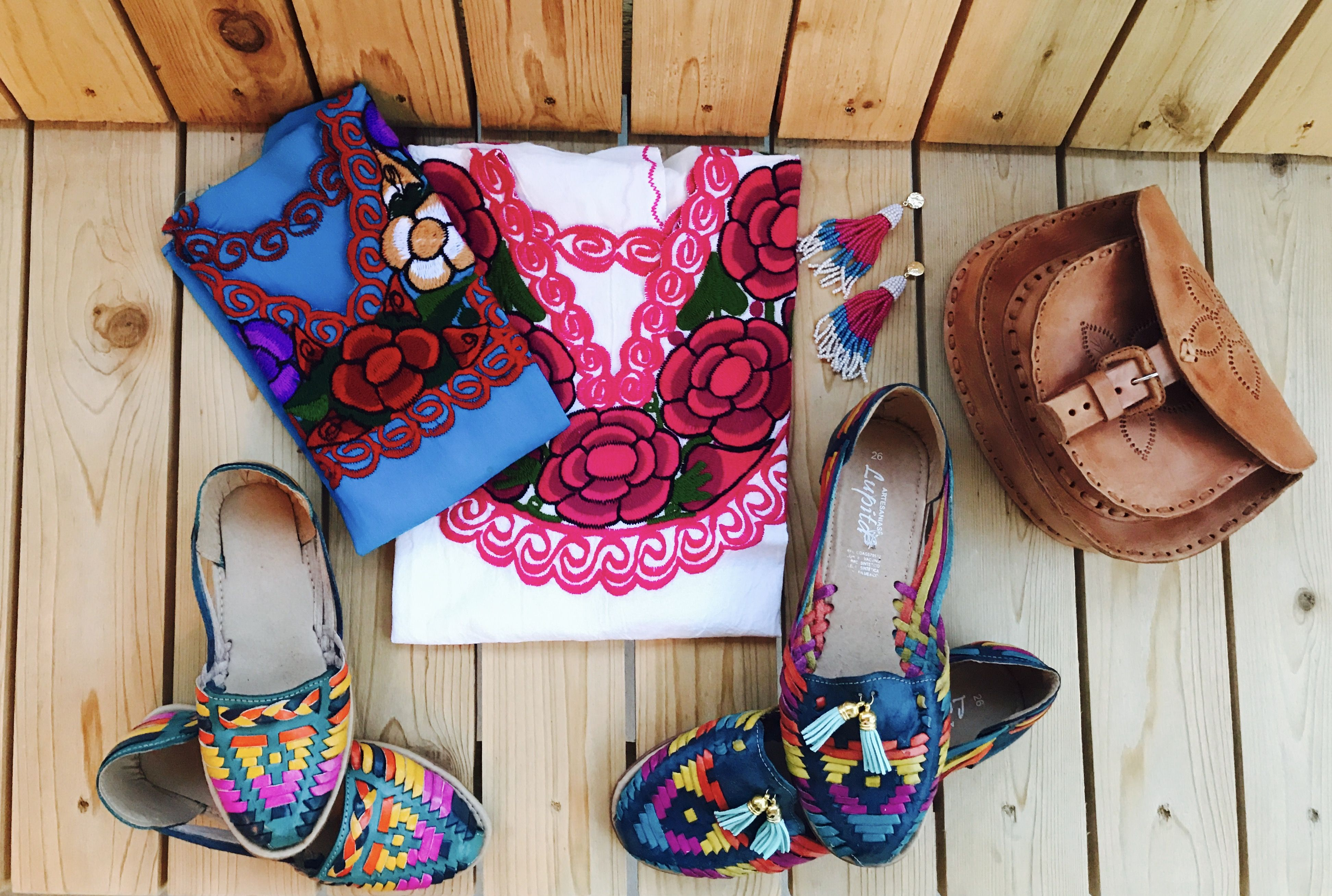 Matching huaraches shoes! Matching