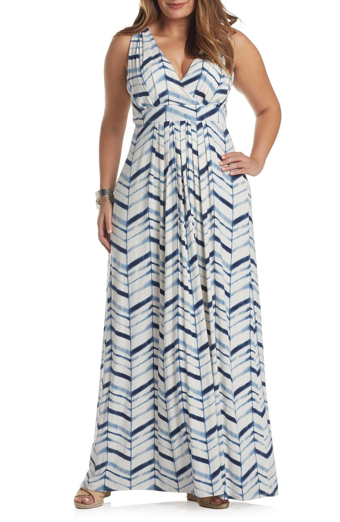 e866dd015 Tart Chloe Empire Waist Maxi Dress (Plus Size) available at #Nordstrom