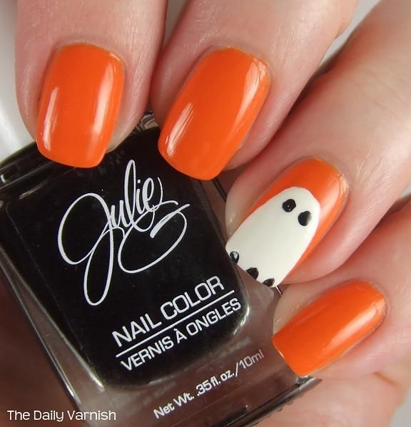 ghost nail art - Google Search - Ghost Nail Art - Google Search Halloween Nails Pinterest Art