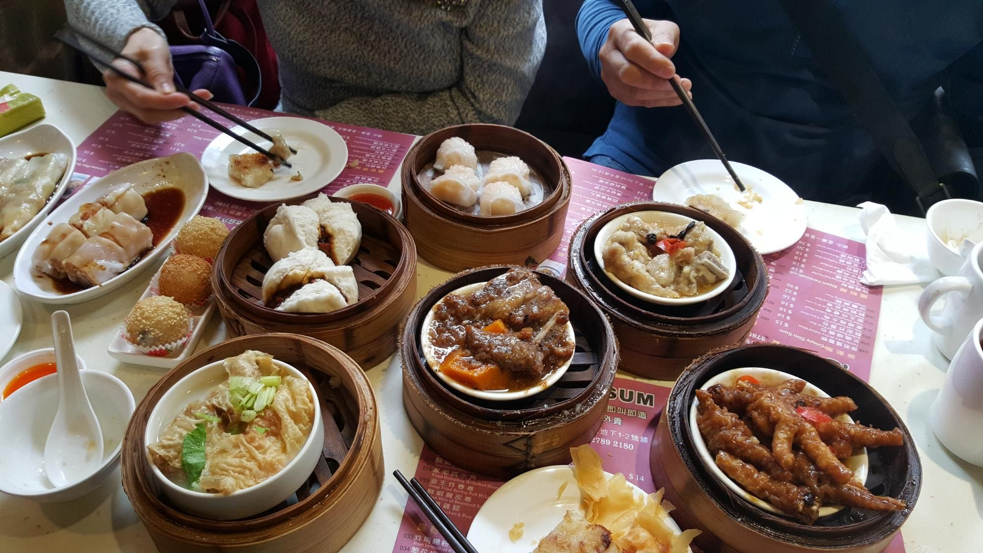 One Dim Sum Chinese Restaurant Dim Sum Food Pork Buns