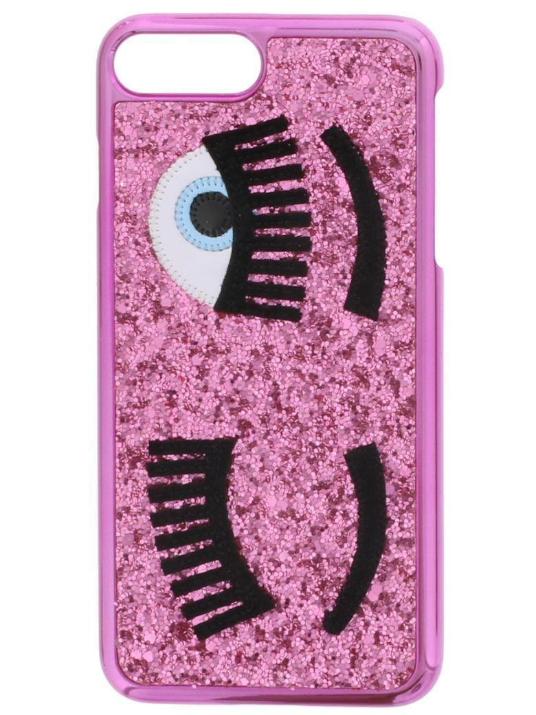 Chiara Ferragni Flirting Glittered Iphone Case In Rosa | ModeSens ...