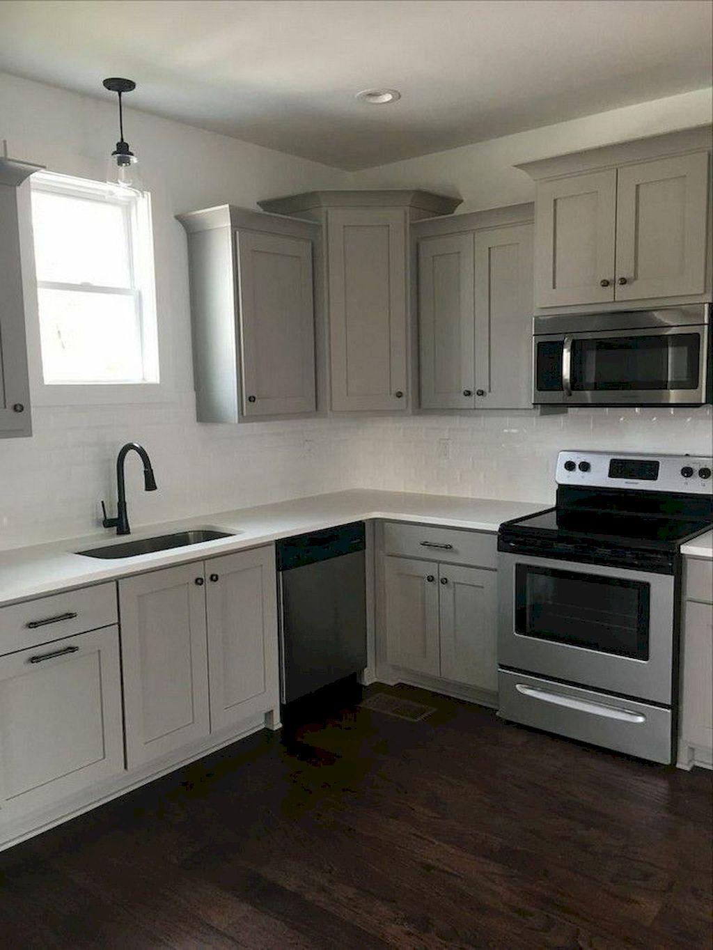 65 gray kitchen cabinet makeover design ideas modern grey kitchen kitchen color trends grey on kitchen ideas gray id=62492