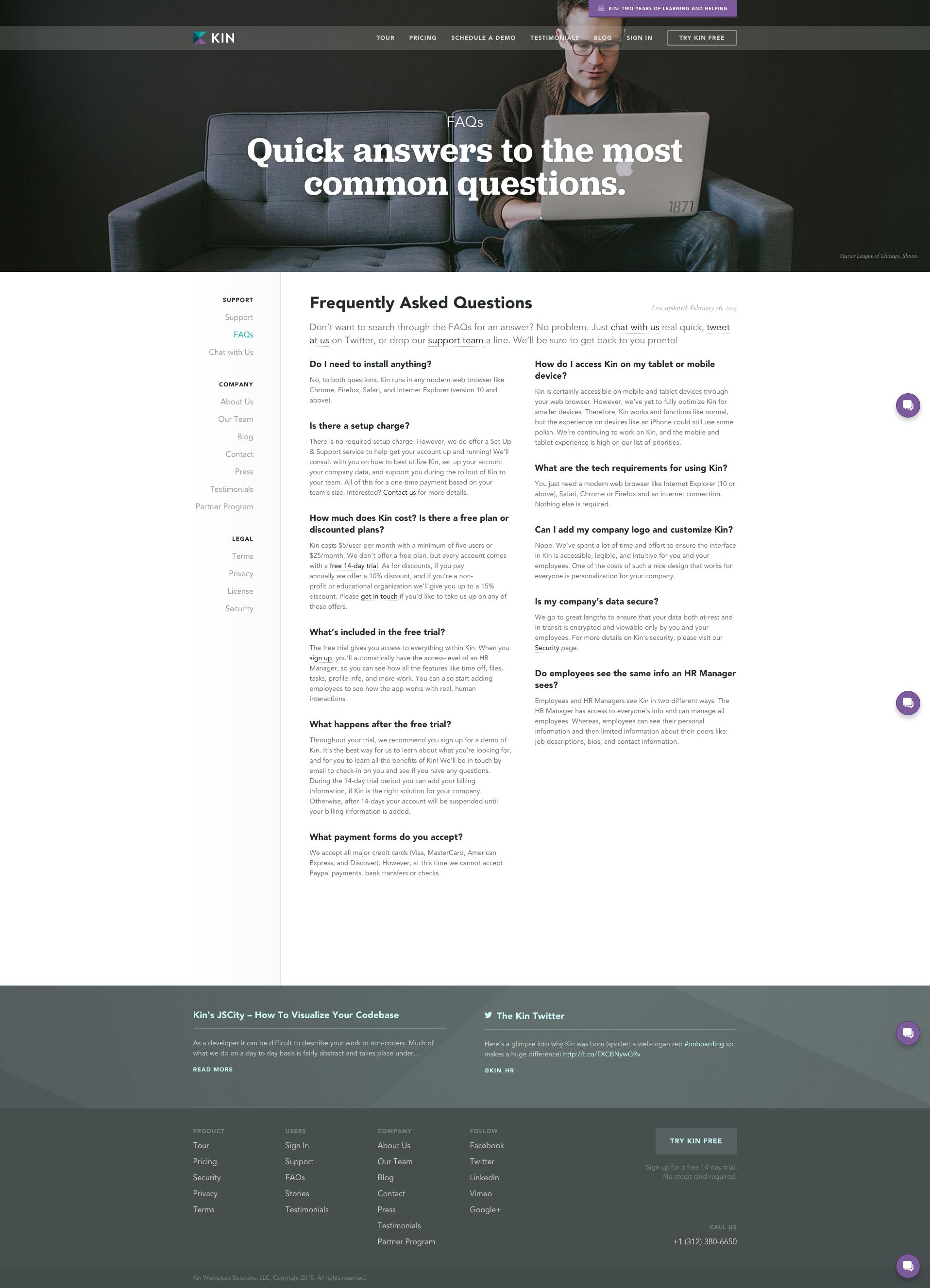 Kin Hr Solution Faq Page Web Layout Design Web Inspiration Web Design