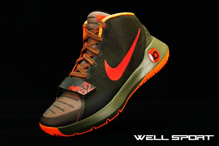 9728a50668b9 NIKE KD TREY 5 III EP OLIVE GREEN KHAKI ORANGE 749378 263  175 ...