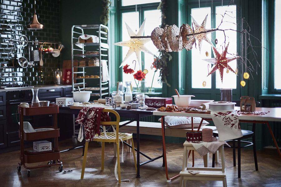 ... #weihnachtszeit #einrichtung #dekoration #deko #interior #solebich  #inspiration #christmas #christmasdecor #ikea #esszimmer #esstisch Foto:  Ikea