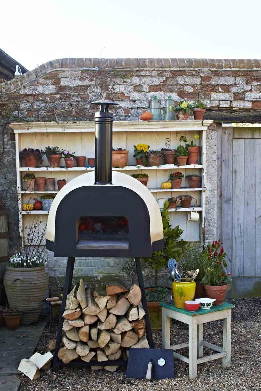 Jamie Oliver dome60 Wood Fired Oven Luxury outdoor