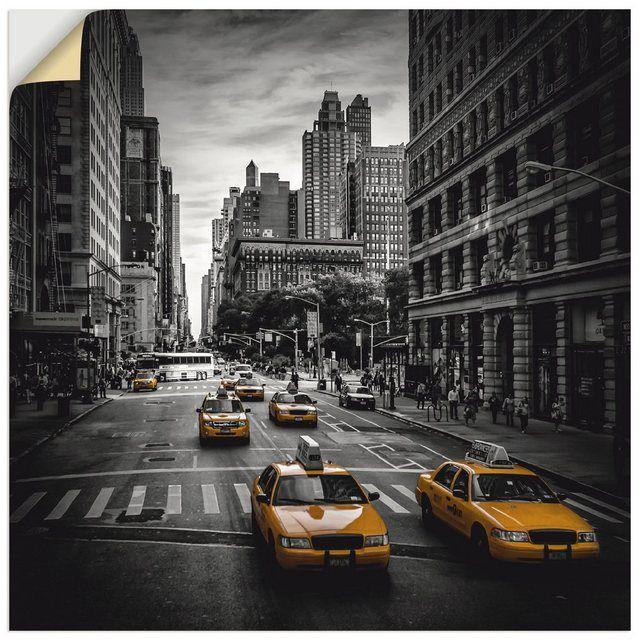 Artland Wandfolie, Premium Wandfolie »M. Viola: NEW YORK CITY Verkehr auf der 5th Avenue, M. Viola: New York Verkehr auf der 5th Avenue« online kaufen | OTTO